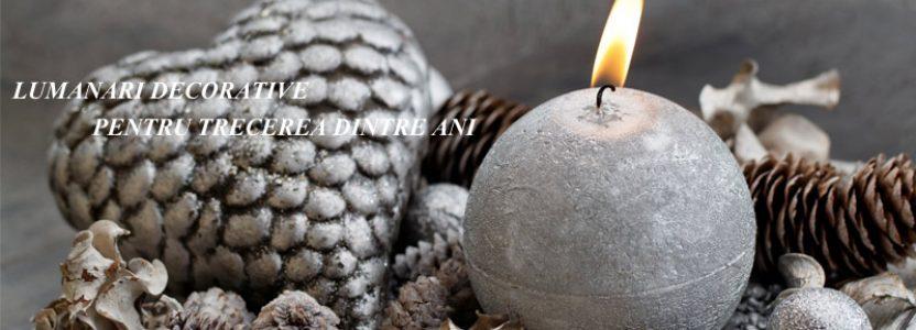 lumanari decorative pentru anul nou