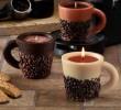 lumanare cu aroma de cafea