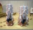 lumanare sculptata cu figurina