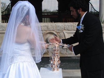 lumanare sculptata nunta