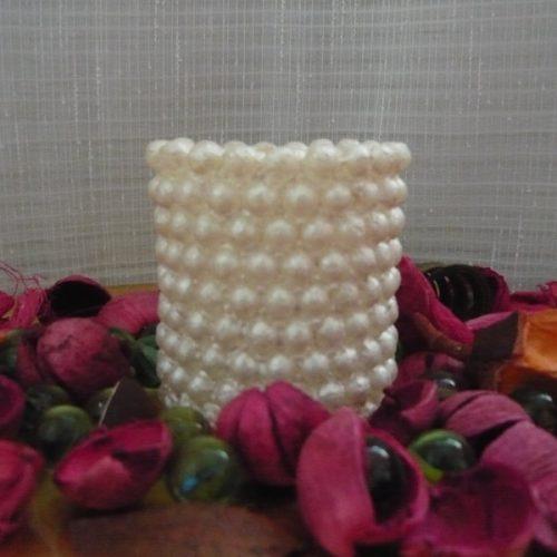 lumanari decorative cu bule albe